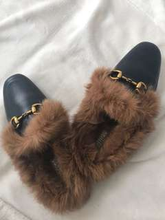 Gucci inspired slippers