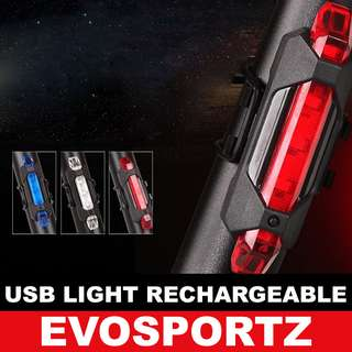 USB Rechargeable Lights for Bicycles / Scooters