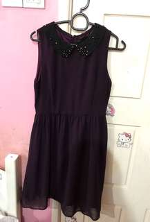 SEED Purple dress