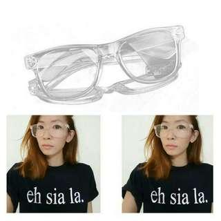Instocks Korean Style Transparent Glasses