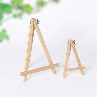 S Table Top Pine Wood Easel