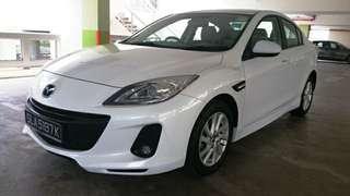 2013 Mazda 3 1.6A SP Luxury  13.1k