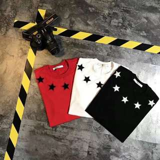 Givenchy tee in 3 colors