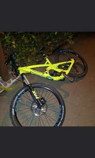 Polygon t6 full suspension mountain bike