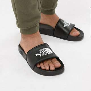 The North Face base camp sliders II in Black/White
