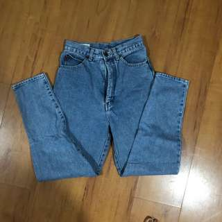Authentic Fornari Mom Jeans