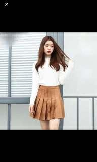 Brown Tennis Skirt