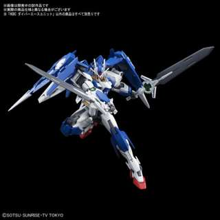 HGBD 1/144 GUNDAM OO DIVER with Dive Ace Unit