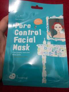 CETTUA Copia pore control facial mask