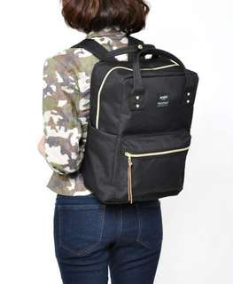Authentic Anello Square Backpack