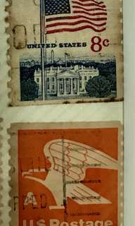 Vintage antique Stamps Collection