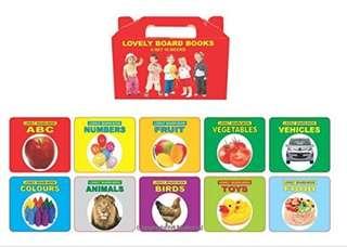 Lovely Board Books for baby & kids
