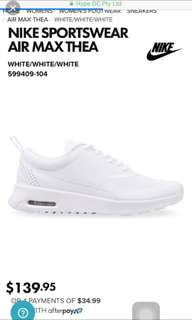 White Air Max Theas