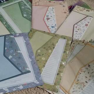 BAGSAK PRESYU SALE!!!! KOREAN FLORAL LETTER SET
