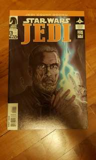 Star wars Jedi Count Dooku comic