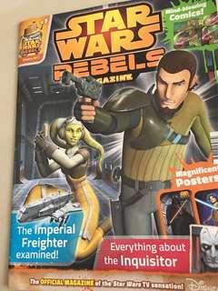 🆓NM Star Wars Rebels Magazine