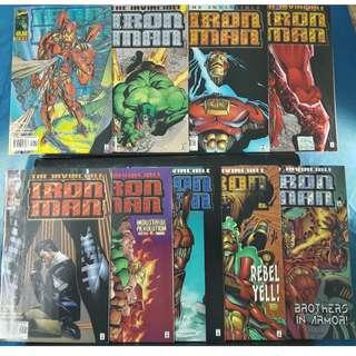 Iron Man #1-#9 (1996)
