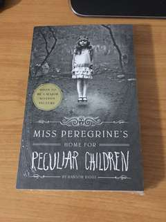 Miss peregrine's home for peculiar children (BRAND NEW WITH WRAPPER)