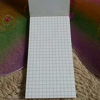 BAGSAK PRESYU SALE!!! Kraft cover memo pad (grid)