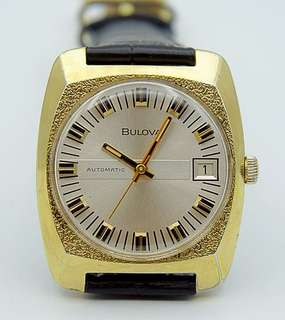 Golden Automatic Bulova 35.5 mm