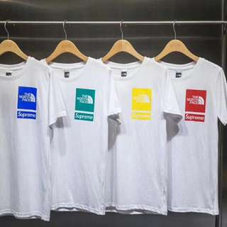 Supreme x tnf tee in 4 colors