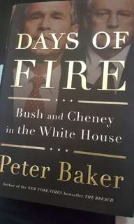 days of fire - bush and cheney in the white house