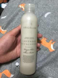 Argelan Organic certified rich moist body milk- lavender eucalyptus