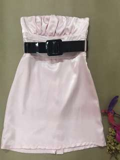 Light Pink Tube Dress