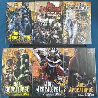 Age of Apocalypse 10th Anniversary #1-#6 (Complete)