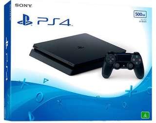 全新 PS4 slim 500G主機 (全國電子提貨券)