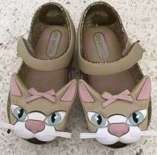 Mini Melissa Shoes cat