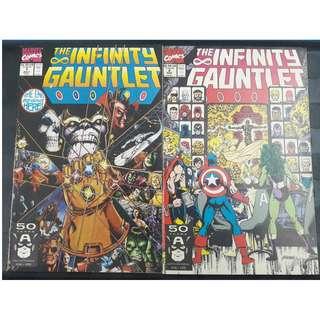 Infinity Gauntlet #1 & #2