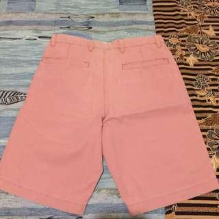Pink Uniqlo Shorts
