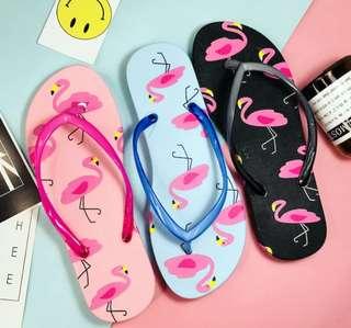 *INSTOCK* Flamingo Slippers