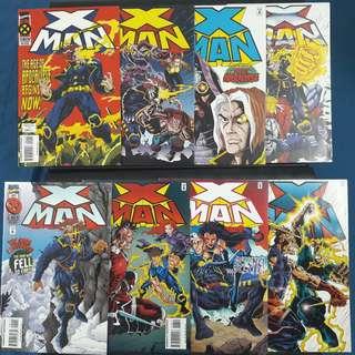 X-Man #1-#16