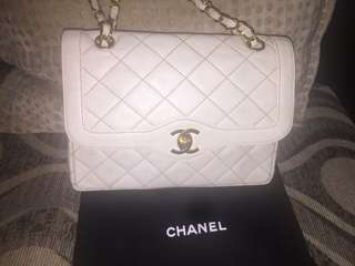 Authentic Chanel Two Tone Flap