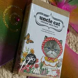 BAGSAK PRESYO SALE!!! UNCLE CAT VINTAGE DECO PACK
