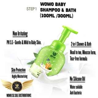 Wowo Baby Shampoo & Bath 100ml