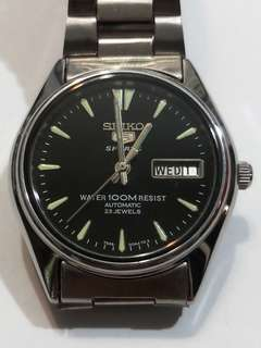 (Reserved)SEIKO 5 SPORT Automatic Watch Bezel 35mm 23 jewels 7S36-OOA4 TG2