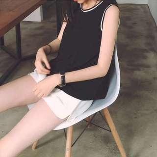 [PO] Korean sleeveless vest top