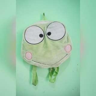 Frog Fur Bag / Tas Kodok Bulu