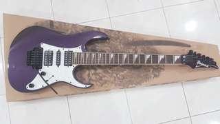 Ibanez RG350DXZ Deep violet metallic guitar