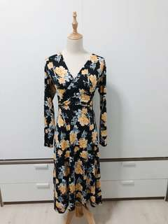 (PRICE REDUCTION) Hari Raya Longsleeve Dress