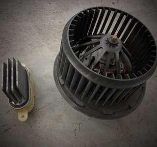 Alfa Romeo 159 aircon fan blower motor