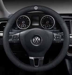 Volkswagen Logo Steering Wheel Protector