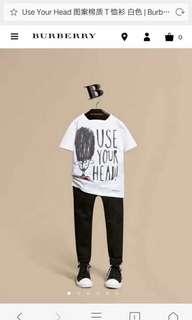 🚚 Burberry男女童士兵頭可愛T恤