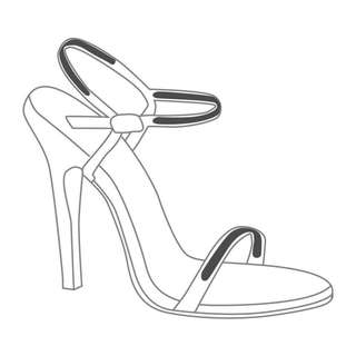Korean Foot Secret Strappy for woman shoes