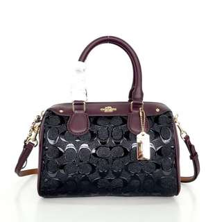 Coach Bennet Signature Debossed Patent small