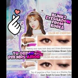 Blink2 Eyeshadow From Korea [PreOrder]