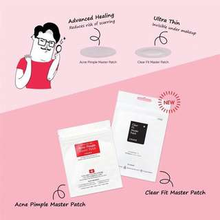 [COSRX] Acne Pimple / Clear Fit Master Patch